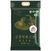 柴火大院 五常有机大米 稻花香米 东北大米 大米5kg