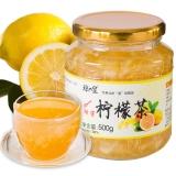 琼皇蜂蜜柠檬茶500g/瓶 冲饮品果味酱水果茶韩国风味