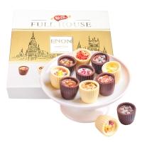 怡浓(ENON)手工黑巧克力礼盒圣诞节礼物送女友 浪漫满屋 325g