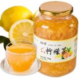 琼皇蜂蜜柠檬茶1000g/瓶 冲饮品果味酱水果茶韩国风味