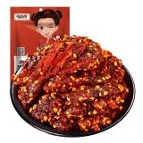 蜀道香 休闲零食 四川小吃 天椒烧烤味牛肉干88g