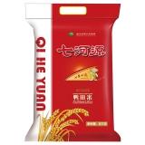 七河源 鸭田米 大米5kg 东北大米 长粒香米 鸭稻共生