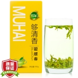 2018年 年货 目海(Muhai) 茶叶 绿茶 碧螺春 明前茶盒装 100g