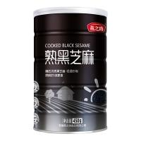 燕之坊 熟黑芝麻 烘培熟 免洗干吃 香醇饱满 五谷杂粮 代餐 450g(量贩装)
