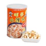 旺旺 休闲儿童饼干 旺仔小馒头 宝宝点心零食 经典原味 (妈妈罐) 210g