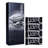 怡浓100%无糖纯黑巧克力礼盒装休闲零食 120g