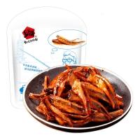 乡乡嘴 小汁鱼仔 鱼肉铺鱼干鱼片小鱼(酱汁味)128g/袋