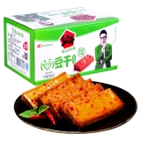 乡乡嘴 豆腐干 辣条素肉豆干(剁椒味)520g/箱