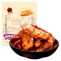 乡乡嘴 豆板筋 豆腐干辣条素肉豆干(烧烤味)388g/袋