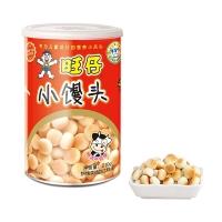 旺旺 休闲儿童饼干 旺仔小馒头 宝宝点心零食 特浓牛奶味 (妈妈罐) 210g