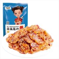 蜀道香 休闲零食 肉干肉脯 特产海鲜小吃 麻辣章鱼足片88g
