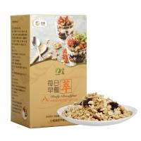 山萃 中粮 每日坚果 每日早餐 坚果炒货 休闲零食 混合麦片 (40g*7包) 280g/盒