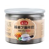 燕之坊 核桃芝麻禅食 核桃粉 黑芝麻糊 代餐粉 600g(量贩装)
