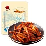 乡乡嘴 小汁鱼仔 鱼肉铺鱼干鱼片小鱼(酱汁味)258g/袋