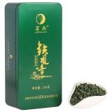 茗杰 铁观音 乌龙茶 安溪铁观音茶叶清香型铁盒装250g