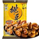 旺旺 挑豆 蚕豆 健康休闲办公零食 酱汁牛肉味 80g