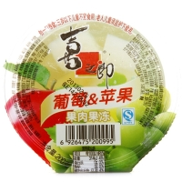 喜之郎 葡萄果肉果冻200g