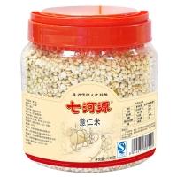 七河源 薏仁米1180g (無添加 小粒薏米 東北 五谷 雜糧 粗糧 桶裝 大米伴侶)