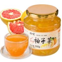 瓊皇 蜂蜜柚子茶500g 沖飲品果味醬水果茶韓國風味