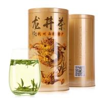 泰峰翠羽 茶叶绿茶 西湖春茶2017龙井茶 龙罐自饮装250g