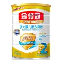 伊利奶粉 金领冠系列 较大婴儿配方奶粉 2段900克*6( 整箱装)(6-12个月较大婴儿适用)