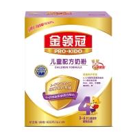 伊利奶粉 金领冠系列 儿童配方奶粉 4段400克(3-6岁儿童适用)新老包装随机发货