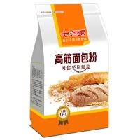七河源 河套面粉 高筋面包粉1.5kg 小麦粉 高筋粉 烘焙原料 披萨粉(新老包装随机发货)