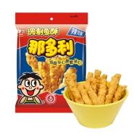 旺旺 那多利 鱼酥 酥脆办公小零嘴零食 辣味 25g