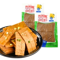 香香嘴豆腐干 休閑零食 四川特產豆干 五香味80g/袋