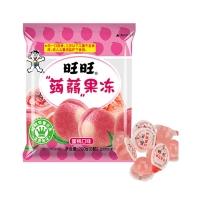 旺旺 零食蒟蒻果冻 儿童休闲零嘴 蜜桃味 (量贩包) 170g+30g