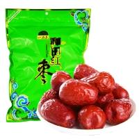 一品玉 和田大红枣650g 休闲零食 蜜饯果干 新疆特产 大枣 粥枣