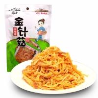 蜀道香 休闲零食 四川小吃 麻辣金针菇220g