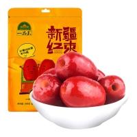 一品玉 新疆去核红枣500g 休闲零食 蜜饯果干 新疆特产 大枣 粥枣