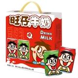 旺旺 旺仔牛奶 儿童牛奶早餐奶 原味245ml*8罐+苹果味245ml*4罐