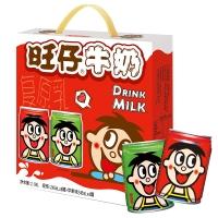 旺旺 旺仔牛奶 兒童牛奶早餐奶 原味245ml*8罐+蘋果味245ml*4罐