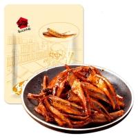 乡乡嘴 小汁鱼仔 鱼肉铺鱼干鱼片小鱼(秘香味)258g/袋