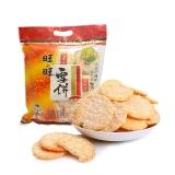 旺旺 雪饼 膨化 休闲零食香脆米饼 饼干糕点 原味 258g