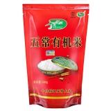 十月稻田 五常有机米 500g(稻花香米 东北大米 当季新米)