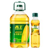 西王 玉米胚芽油 非转基因压榨食用油4L