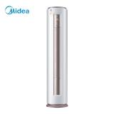 美的(Midea)3匹 定速 冷暖 静音 圆柱空调柜机 智行 KFR-72LW/DY-YA400(D3)(陶瓷白)