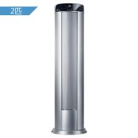 格力(GREE) 2匹 变频 I酷 立柜式冷暖空调(银色) KFR-50LW/(50551)FNAa-A3