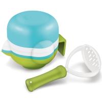 NUK研磨碗多功能食物研磨套装辅食研磨碗/研磨器餐具