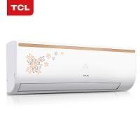 TCL 正1.5匹 定速 冷暖 空调挂机(时尚印花 隐藏显?#37202;粒↘FRd-35GW/FC23+)