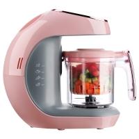 海尔(Haier )婴儿营养食物调理机 辅食机食物研磨器料理机蒸煮搅拌一体机HBB-I0201