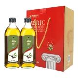 希腊 AGRIC阿格利司 橄榄油 1L*2瓶 礼盒
