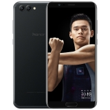 荣耀 V10 高配版 6GB+64GB 幻夜黑 移动联通电信4G全面屏游戏手机 双卡双待