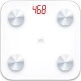香山 电子秤 加大家用健康?#29992;?智能人体监测 体脂秤称重 蓝牙APP控制 EF866i (纯白)