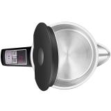 美的(Midea)电水壶 304不锈钢电热水壶 1.5L容量 智能手柄控温 双层全钢烧水壶MK-HE1504