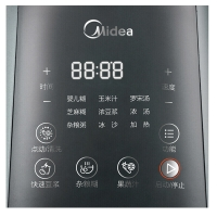 美的(Midea)破壁机高速BL1206A智能微压焖香熬煮加热不糊底辅食机