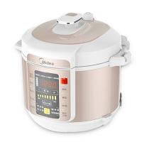 美的(Midea)电压力锅家用双胆智能5L高压饭煲 MY-CS5029P 白色